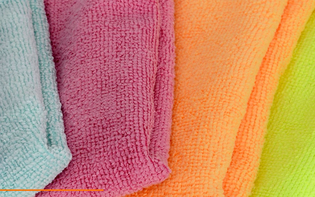 Microfiber Products in different colors