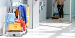 A janitorial service that provides a hygienic focused approach to assist in reducing the spread of infectious disease and illness causing germs.