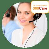 Female receptionist 360care