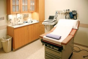 medical office, instruments and medical equipment