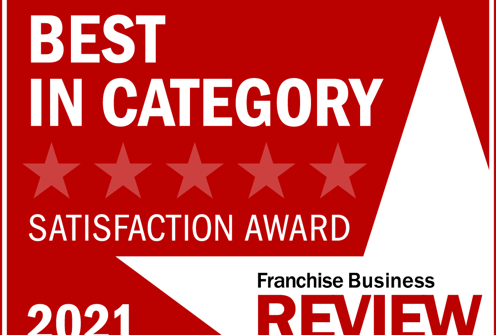 360clean Named a 2021 Best-in-Category Franchise by Franchise Business Review