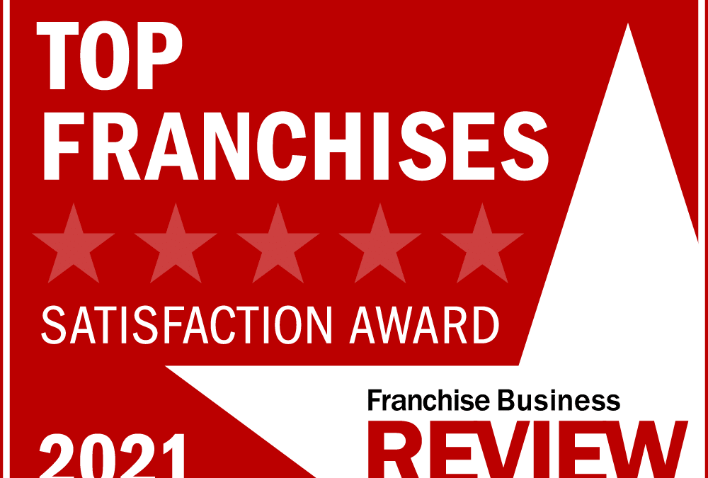 360clean Named a 2021 Top Franchise by Franchise Business Review