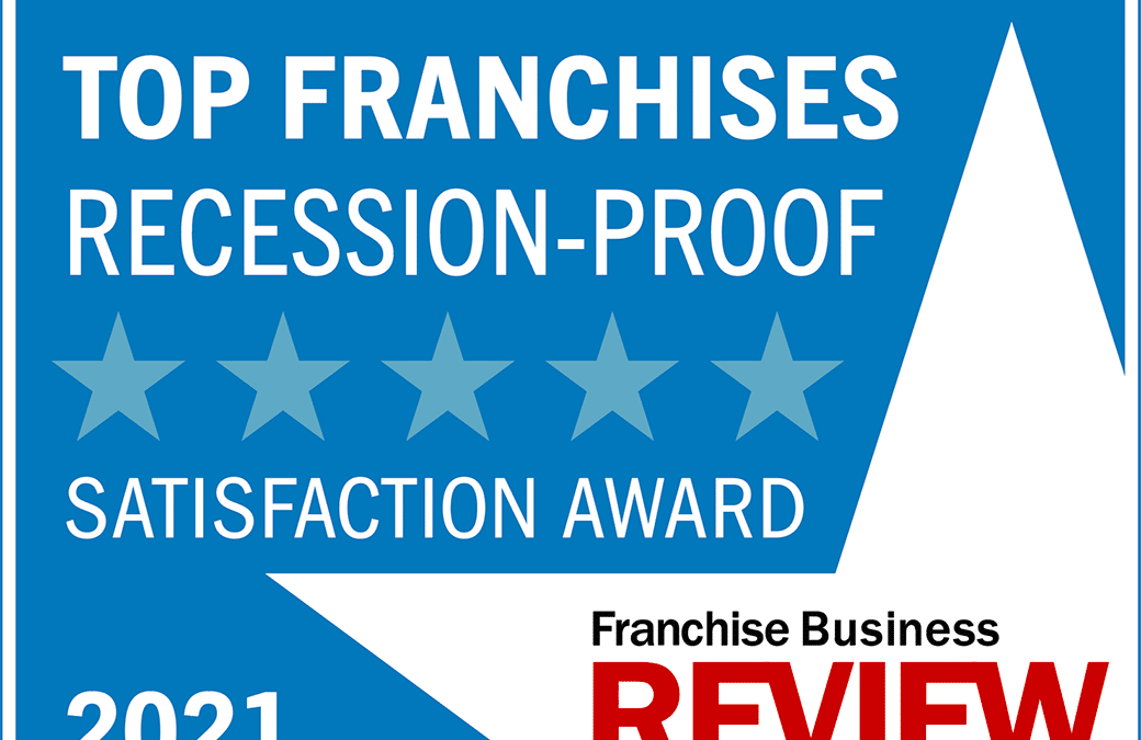 360clean Named a Top Recession-Proof Business for 2021 by Franchise Business Review
