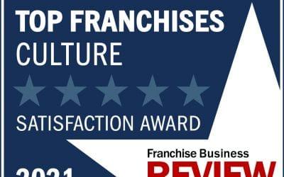 360clean Wins Best Franchise Culture 2021
